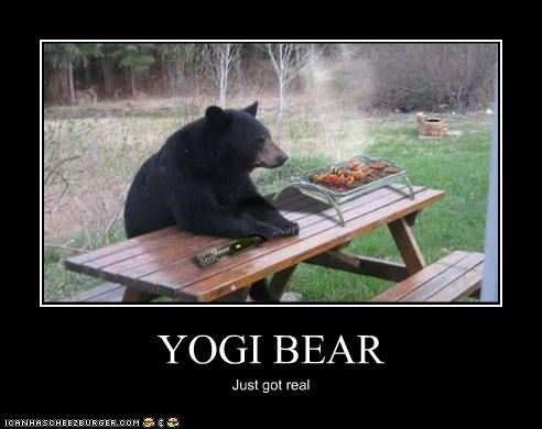 YOGI BEAR Just got real