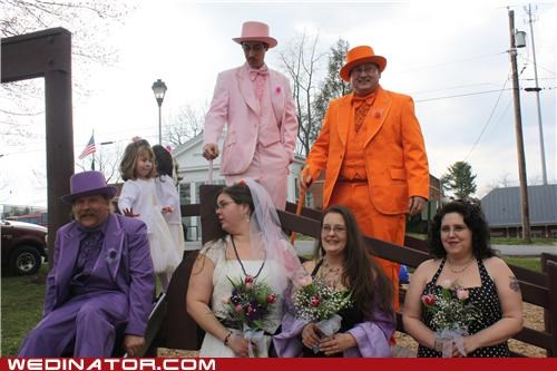 colorful wedding funny wedding photos Groomsmen - 4792948480