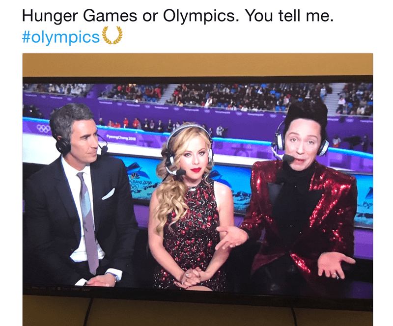 twitter commentary funny olympics - 4793093