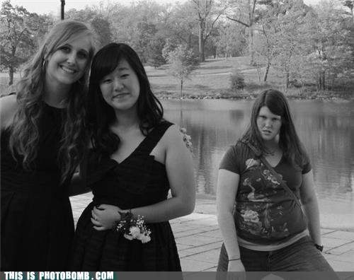 Awkward black and white derp lady friend prom - 4793143296
