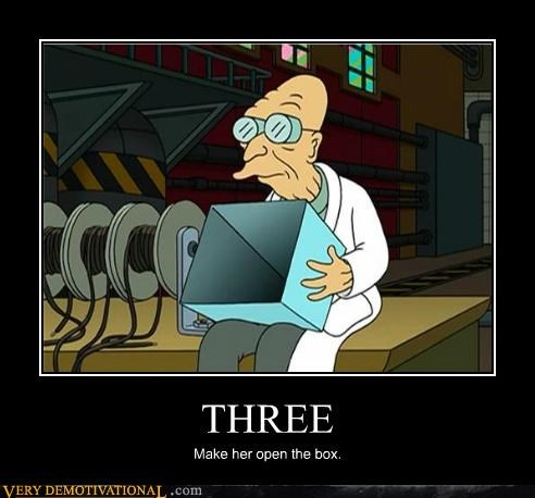 box dck-in-a-box farnsworth futurama hilarious - 4793228288