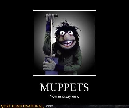 crazy emo hilarious muppetes scary - 4793230080