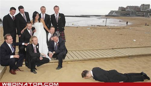 funny wedding photos,Planking,wedding party