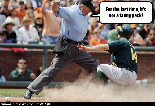 Umpire S Baseball Pouch Is That What A Hipster Is