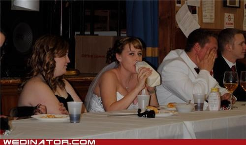 bride,funny wedding photos,milk