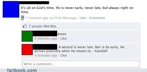 god Lord of the Rings timing wizards