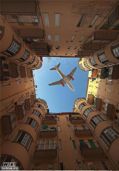 awesome buildings photography planes timing - 4794375168
