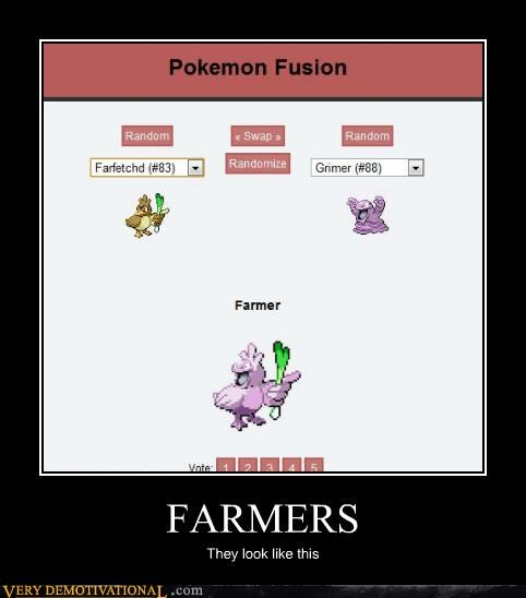 fusion Pokémon farmer funny - 4794425600