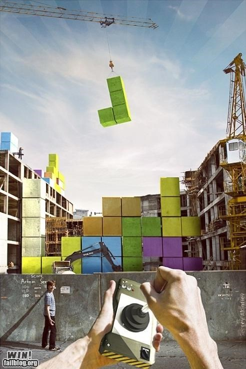 building construction IRL tetris video games - 4794430208
