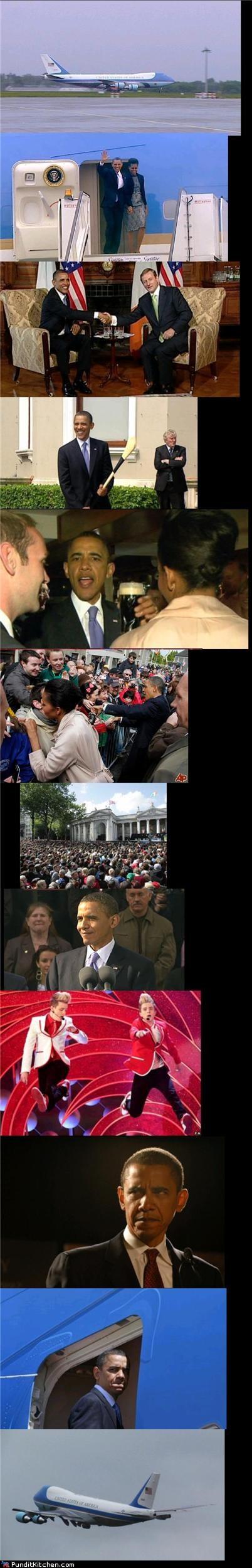 barack obama Ireland political pictures - 4794552064