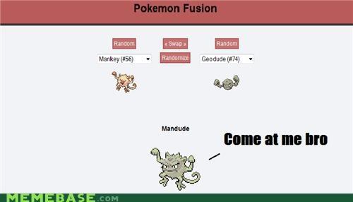 bro fusion geodude mandude Pokémemes - 4794557696