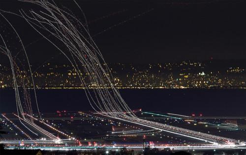 Long Exposure Photography photo set SFO