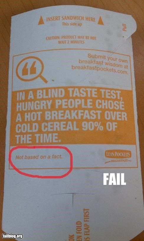 facts failboat food g rated hot pocket science Statistics - 4794879488