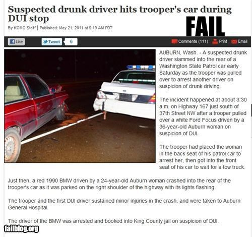 alcohol,crash,drinking,dui,failboat,g rated,guilty,police,Probably bad News