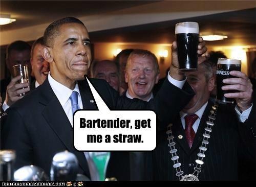 barack obama beer Ireland political pictures - 4795244032