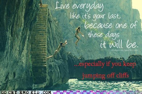 cliff,everyday,hipsterlulz,jumping