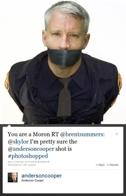 Anderson Cooper This Looks Shopped tweet - 4795611136