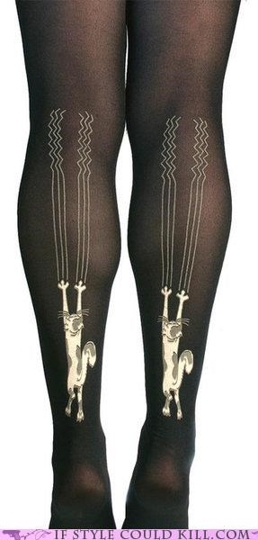 Cats cool accessories pantyhose tights - 4795791360