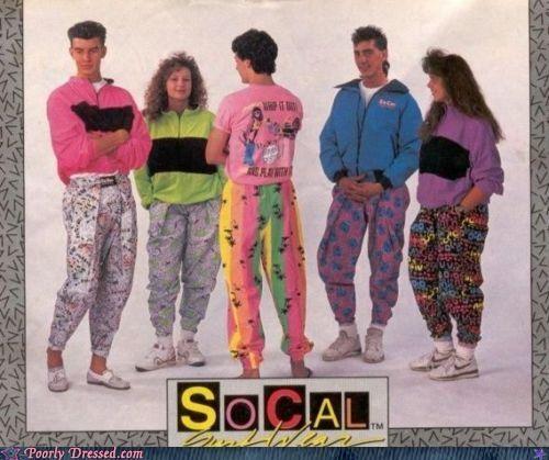 90s neon pants - 4795979264