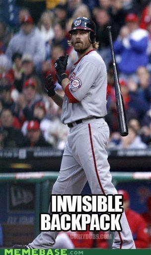 backpack baseball batboy batman invisible Memes - 4796033792