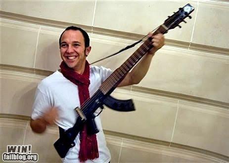 awesome guitar gun hybrid Music - 4796092416