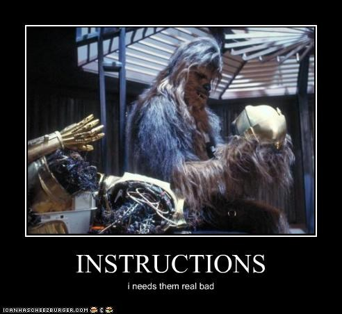 c3p0 chewbacca demotivational funny Movie sci fi star wars - 4796386560