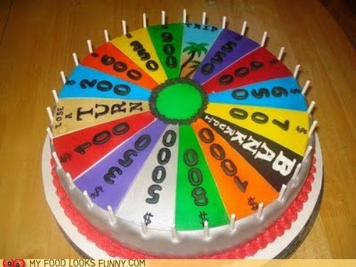 cake,game show,prizes,wheel,wheel of fortune