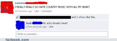 Billy Ray Cyrus country music achy breaky heart - 4796769792