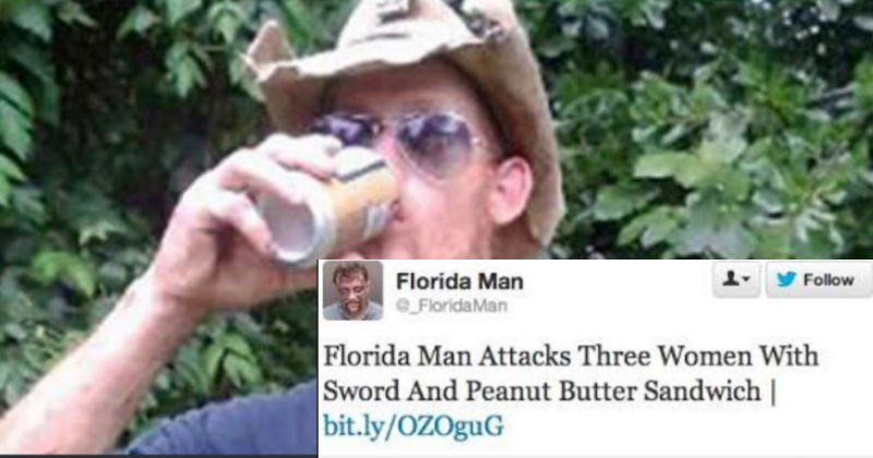 hero news alligator man FAIL florida man florida idiots - 4796933