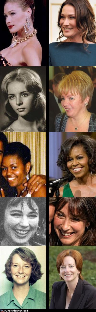 Carla Bruni-Sarkozy Julia Gillard lyudmila putin Michelle Obama political pictures samantha cameron - 4797233664