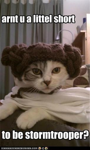 arnt u a littel short to be stormtrooper?