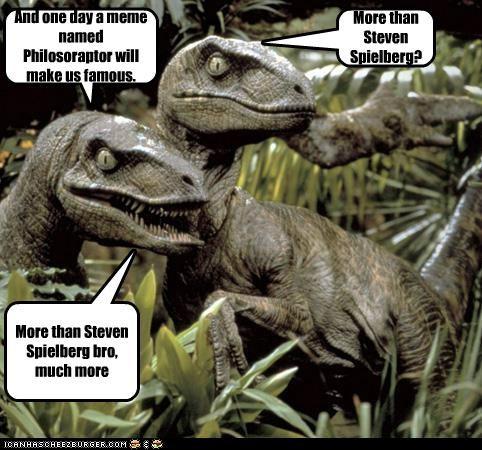 dinosaur funny jurassic park Movie velociraptor - 4797639680