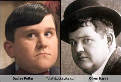 Dudley Potter Totally Looks Like Oliver Hardy