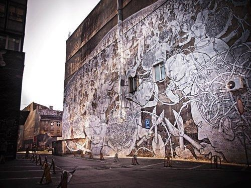 Blu Outer Spaces Festival poland Street Art - 4798301184