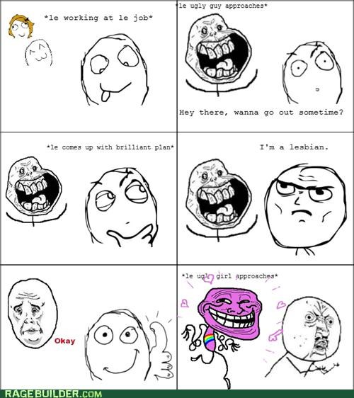 creepers,FAIL,gay,Rage Comics,straight