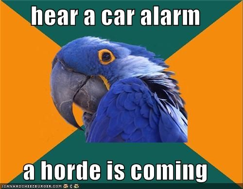 coming,horde,Left 4 Dead,Paranoid Parrot,tank,zombie
