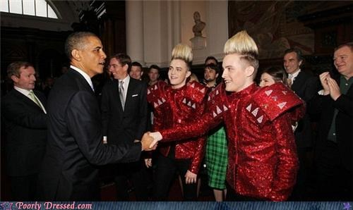coif Jedward obama Sequins shoulder pads testingzone - 4798529792