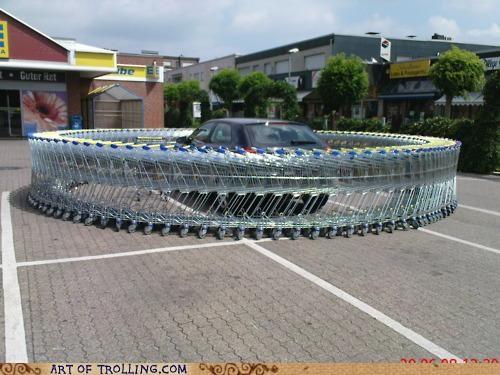 car IRL parking shopping cart - 4798551552