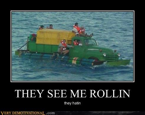 boat,hatin,hilarious,rolling,truck