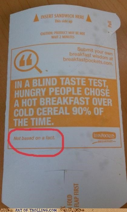 breakfast,facts,hot pockets,IRL