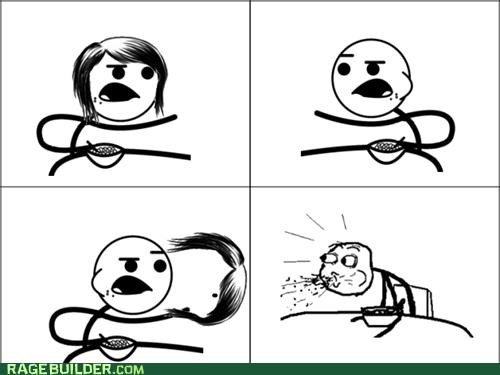cereal guy girl Rage Comics whoops - 4798962432