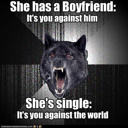 boyfriend girls Insanity Wolf scott pilgrim single world - 4799055104