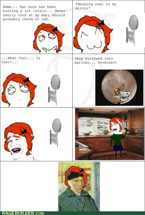 artists bug ear gross Rage Comics - 4799264512