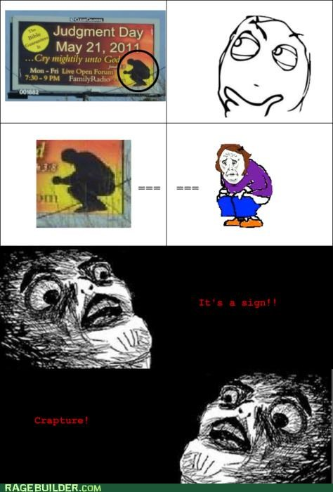 FAIL,grandma taking a,Rage Comics,RAPTURE