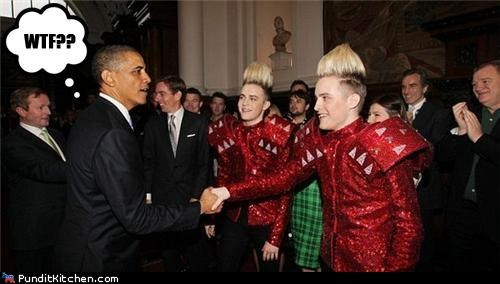 barack obama,Jedward,political pictures
