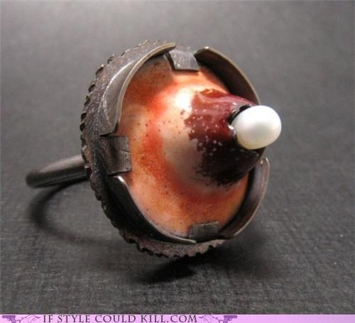 cool accessories pimple ring of the day rings - 4799443712