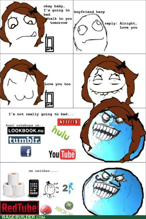 couple,evil,internet,perfect,Rage Comics,tumblr