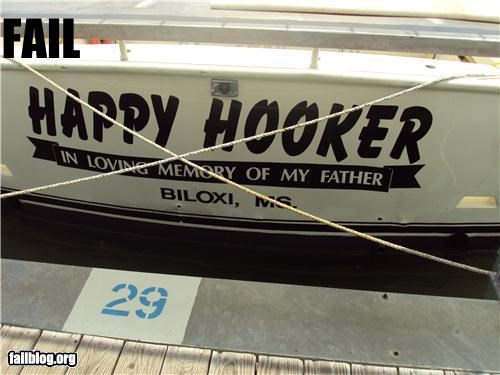 boat,boat name,failboat,hooker,in memory,innuendo,sports