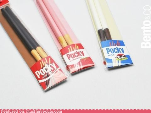 chopsticks eating kitchen Pocky utensils - 4800312832