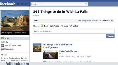 Things to do in Wichita Falls... Getaway!